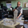 The man who holds on to a dying art of fabric printing in Kashmir