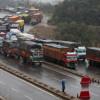 Traffic on Sgr-Jmu highway suspended
