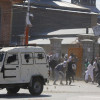 Dozens injured in clashes in Srinagar downtown