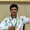 Chief Minister compliments J&K shooter Chain Singh for winning Silver medal at Germany event