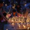 Shab-e-Baraat: Kashmiri Muslims light candles on the graveyards of their dear ones on Shab-e-Baraat…