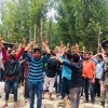 Many injured as residents of Budgam village clash with police