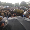 Thousands of people participated in funeral prayers of Shujaat Bukhari