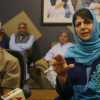 Out of power, Mehbooba says muscular policy won't work