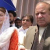 Sharif, daughter set to arrive in Lahore to face arrest in graft case