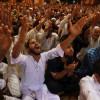 Devotees pray at Srinagar's Jamia Masjid on Lailat-ul-Qadr