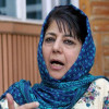 Mehbooba questions ban on over 30 TV channels