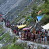 10067 pilgrims pay obeisance at Amarnath cave