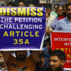 Trade bodies hit streets to defend Article 35 A