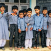 60 students, 2 rooms, 2 teachers and no toilet facility…