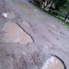 Tukroo-Panzer road in Shopian plagued with potholes