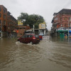 Heavy bout of torrential rains Tuesday morning again exposed the Srinagar's faulty drainage system…