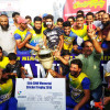 Sultan Warriors lifts 15th SNW Memorial Cricket Trophy-2018