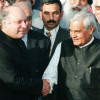… when Vajpayee took bus to Lahore and hugged Sharif
