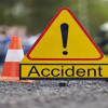 Pedestrian dies in road accident