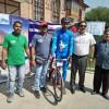 Dir Tourism flags off Kashmir to Kanyakumari cycling expedition