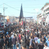 Massive Ashura procession was taken out today in old town Srinagar…
