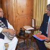 VC KU Prof Talat Ahmad calls on Governor