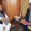 VC KU Prof Talat Ahmad calls on Governor