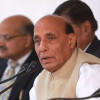 Talks, Yes; Terror, No: Rajnath Singh