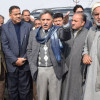 Ganai visits Pulwama, takes stock of damages to horticulture, agriculture sectors