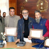 Outstanding employees of Agriculture department felicitated at Lalmandi