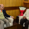 Jammu Mayor calls on Advisor Sharma, discusses JMC issues