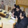 Div Com reviews progress of PMJAY scheme