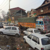 Frequent traffic jams choke roads in Shopian Town