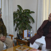 Addl. DG CRPF meets Governor