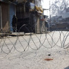 trict curfew was imposed in Pulwama town on Sunday…