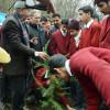 Forest dept organizes plantation drive at Zabarwan Hills