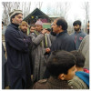 Yasin Malik visits Muj-Gund and SMHS hospital