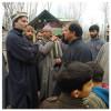 Yasin Malik visits Muj-Gund and SMHS hospital