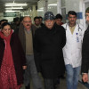 Div Com conducts extensive city tour; inspects ground zero preparations