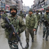 Forces conduct mock-drill at Lal Chowk