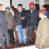 Sarmad Hafeez inspects pace of work on Indoor Sports Hall Ganderbal