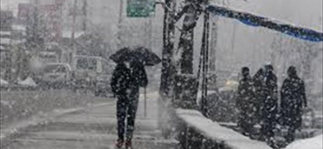 Rain, snow likely in Jammu and Kashmir