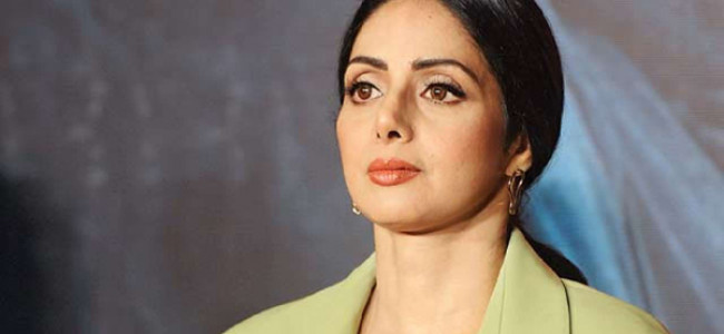 Veteran Bollywood actress Sridevi passes away