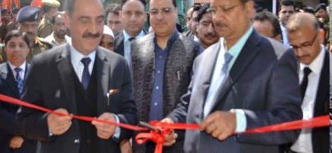 Chief Justice lays foundation Stone of New District court complex Baderwah