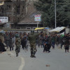 Clashes broke out in the area following encounter