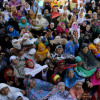 Thousands of devotes thronged the Hazratbal shrine….