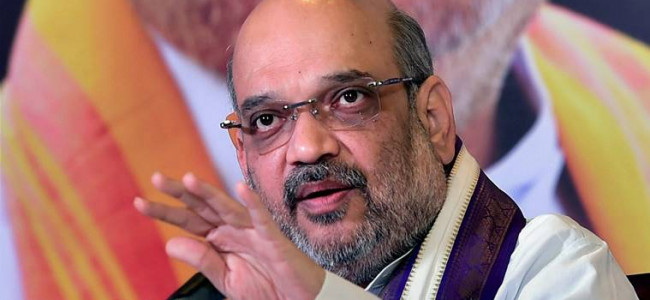 Amit Shah holds meeting with top security brass