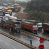 One way traffic on Sgar-Jmu highway