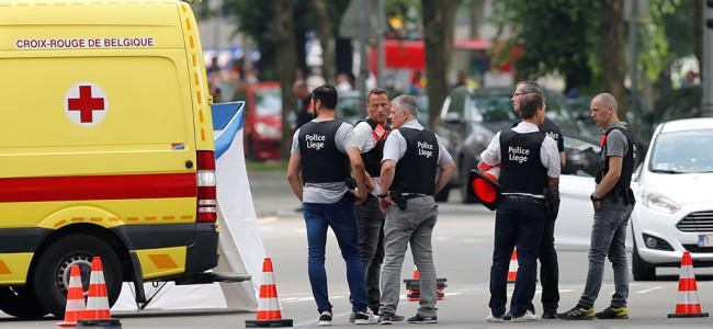 3 dead in suspected 'terror' shooting in Belgian city
