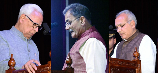 PDP, BJP induct new faces into Ministry