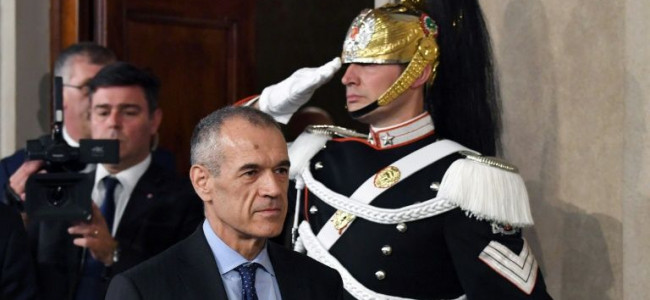 Italy's president set to appoint technocrat PM amid political chaos