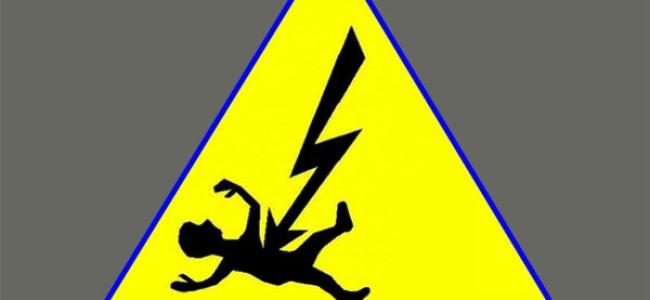 Man electrocuted in Nambla Uri