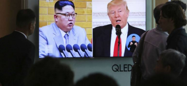 US delegation in N Korea to prepare for summit with Kim: Trump
