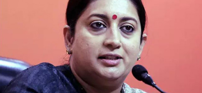 Pashmina certification will discourage counterfeits; protect interests of artisans: Irani